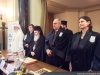 His Beatitude and Mrs Axinciuc at the opening of the meeting