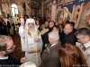 The Patriarch of Romania performs the water-blessing rite