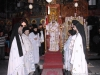 His Eminence the Archbishop of Gerassa and his retinue at the divine Liturgy