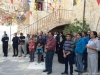 Pious pilgrims honouring the memory of St Savvas
