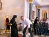 Pupils entertain guests on national day