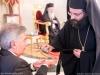 Mr Zacharoudiakis and the Master of Ceremonies