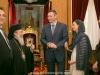 His Beatitude with Mr Klychko and Ambassador Nadolenko