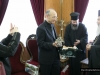 His Beatitude offers the Minister a model of Jerusalem