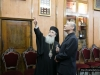 His Beatitude guides Mr Uzi around the Patriarchate