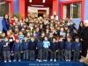 Teachers and pupils at the nursery school