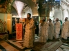 The divine Liturgy at Golgotha