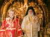 The Metropolitan of Nazareth and the newly-ordained f. Sergios