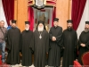 The Metropolitan of Nazareth, the newly-ordained f. Sergios, and Hagiotaphite Fathers