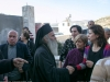 Archimandrite Justinus with members of the Community