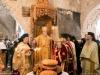 Metropolitan Isychios of Kapitolias breaking bread