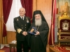 Mr Apostolakis accepts the Patriarch's wishes