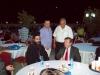 His Eminence Makarios, Archbishop of Qatar, with Ambassadors at the event