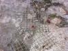 Damaged wire mesh