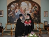 The Patriarch of Alexandria and the Cyprus Exarch, exchanging gifts