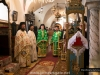 The priests of St Constantine church during the divine Liturgy