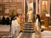 Archbishop Theophanes of Gerassa at the divine Liturgy