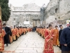 Welcoming the Patriarch in Bethlehem square