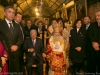 His Beatitude, President Abu Mazen and other officials in the Cave