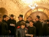 Students from the Greek Orthodox School sing the carols