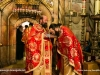Archimandrites Sergios carries the relic of St Basil