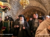 The Patriarch venerates in St Basil Monastery
