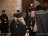 The Archbishop of Cyprus arrives at the Patriarchate
