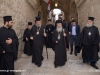 The Archbishop of Cyprus and His retinue proceed to the Church