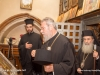 The Archbishop of Cyprus venerates at the Holy Cross