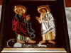 The icon of St Peter's miraculous liberation, handicraft