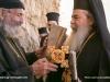 Archimandrite Gerasimos welcomes the Patriarch