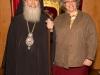 His Beatitude with a pilgrim