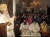 His Beatitude and retinue during mass