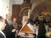 Archimandrite Aristovoulos and the choir