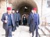The Prelatic Retinue walking towards St Charalambos Church