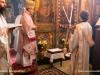 His Eminence reads the kollyva wish