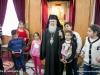 His Beatitude with children from Kana