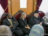 Members of the Delegation converse with His Beatitude