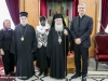 His Beatitude, the Metropolitan of Sassima, Mr Tveit and members of the Delegation