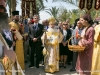 His Beatitude with the Greek Consul-General and other officials