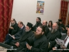 Members of the Hagiotaphite Brotherhood attend the celebrations