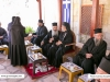 Meatless reception at the Monastery of the Ascension
