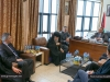 Archbishop Aristarchos visits the Municipal Authorities of Bethany