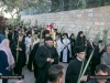 "Procession of the icon of ""Palm Sunday"" from Bethphage"