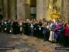 Pious pilgrims around the Holy Sepulchre