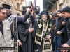 The Archbishop of Gerassa carrying the cross