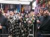 His Eminence and retinue walk through the Via Dolorosa