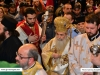 His Beatitude at the procession around the Holy Aedicula
