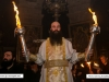 The Archbishop of Hierapolis carries torches with the Holy Light