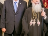 Patriarch Theophilos and President Rivlin